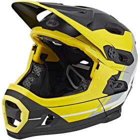 Bell Super DH MIPS MTB Helmet yellow/silver/black